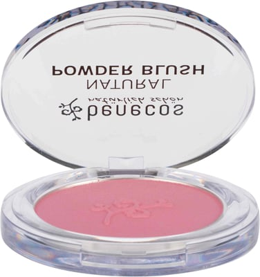 Benecos - Compact Blush - Mallow Rose, 5.5 g 1