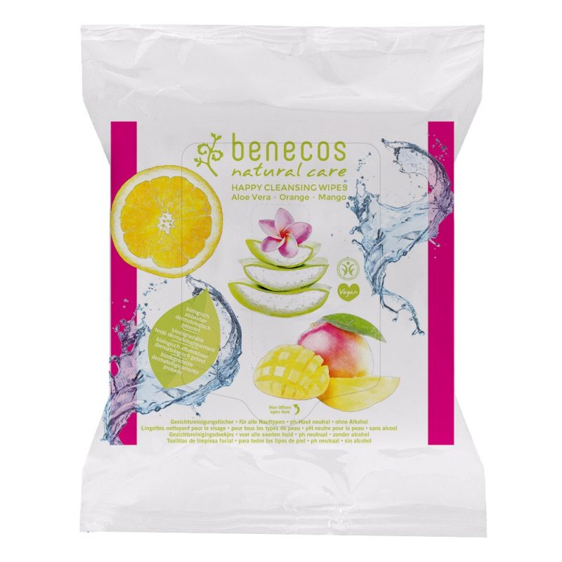 Benecos - Happy Cleansing Wipes, 25 st 1
