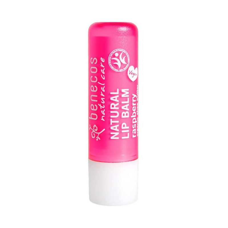 Benecos - Natural Lip Balm - Raspberry, 4.8 g 1