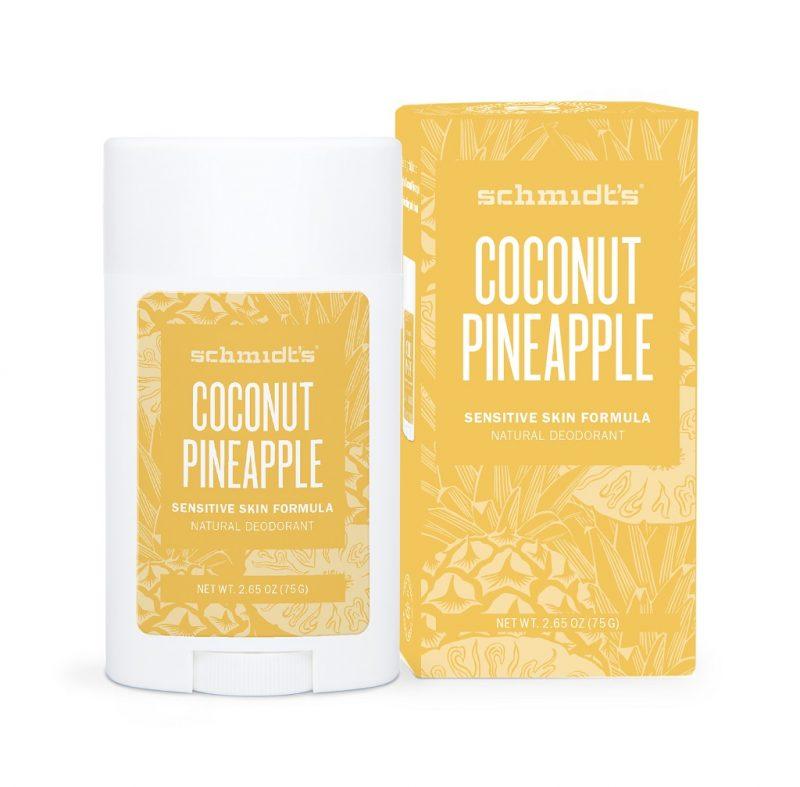 Schmidt's Naturals - Deodorant Sensitive Coconut Pineapple Stick 1