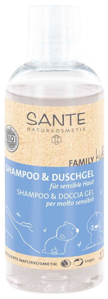 Sante - Family Kids Shampoo & Duschgel - Sensitive, 200 ml 1