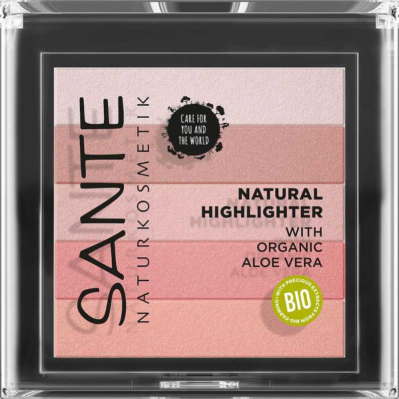 SANTE - Highlighter Beautifying 02 Rose, 7 g 1