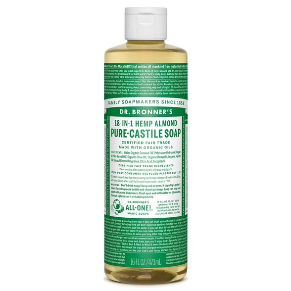 Dr. Bronner's - Liquid Soap - Almond 1