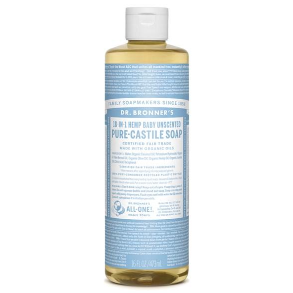 Dr. Bronner's - Liquid Soap - Baby-Mild 1