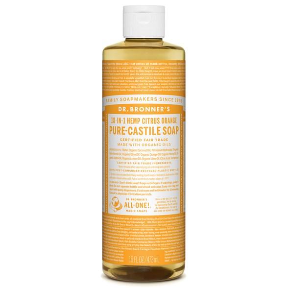 Dr, Bronner's - Liquid Soap - Citrus-Orange 1