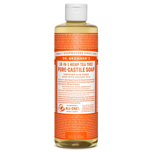 Dr. Bronner's - Liquid Soap - Tea tree 1