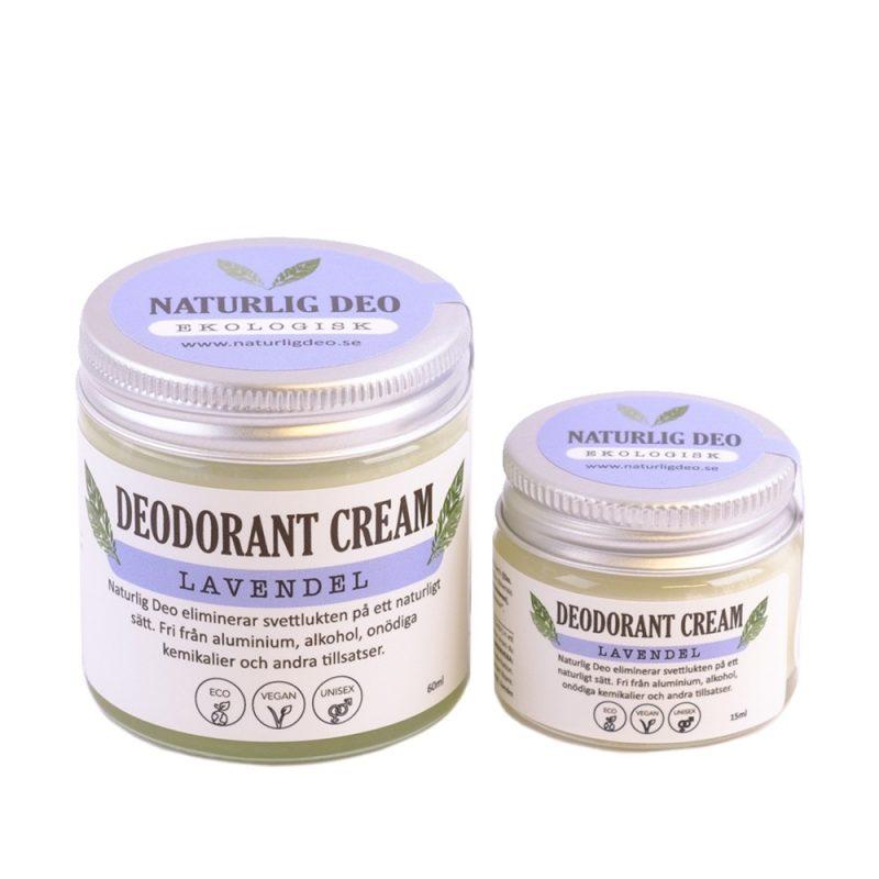 Naturlig Deo - Ekologisk Deodorantkräm Lavendel 1
