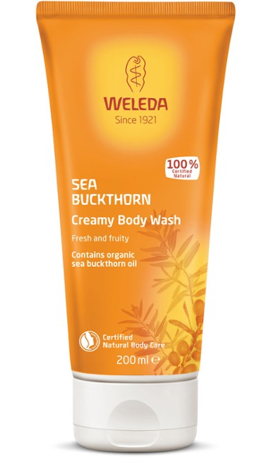 Sea Buckthorn (Havtorn) Creamy Body Wash, 200 ml
