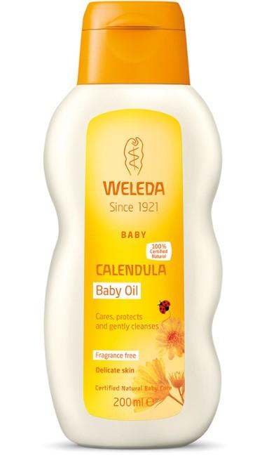 Weleda - Calendula Baby Oil, 200 ml 1