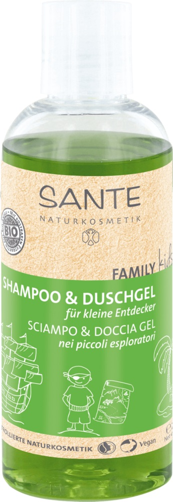 Sante - Family Kids Shampoo & Duschgel - Explorer, 200 ml 1