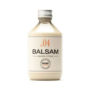 Balsam Nr 04 Magisk Citrus för Fett hår / Fint Hår / Detox / Hårbottenvård