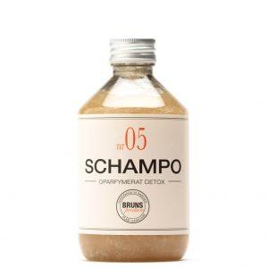 Schampo Nr 05 Oparfymerad för Fett hår / Fint Hår / Detox