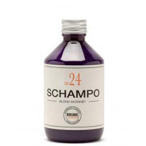 Schampo Nr 24 Blond Skönhet för Alla Hårtyper / Blont, Grått eller Blekt hår