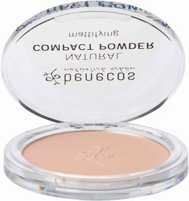 Benecos - Compact Powder Mattifying - Sand, 9 g 1