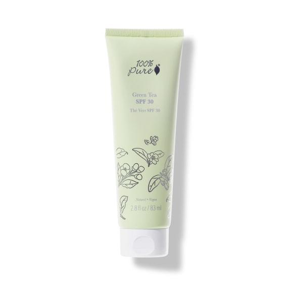 100% Pure Green Tea SPF 30 Sunscreen 1