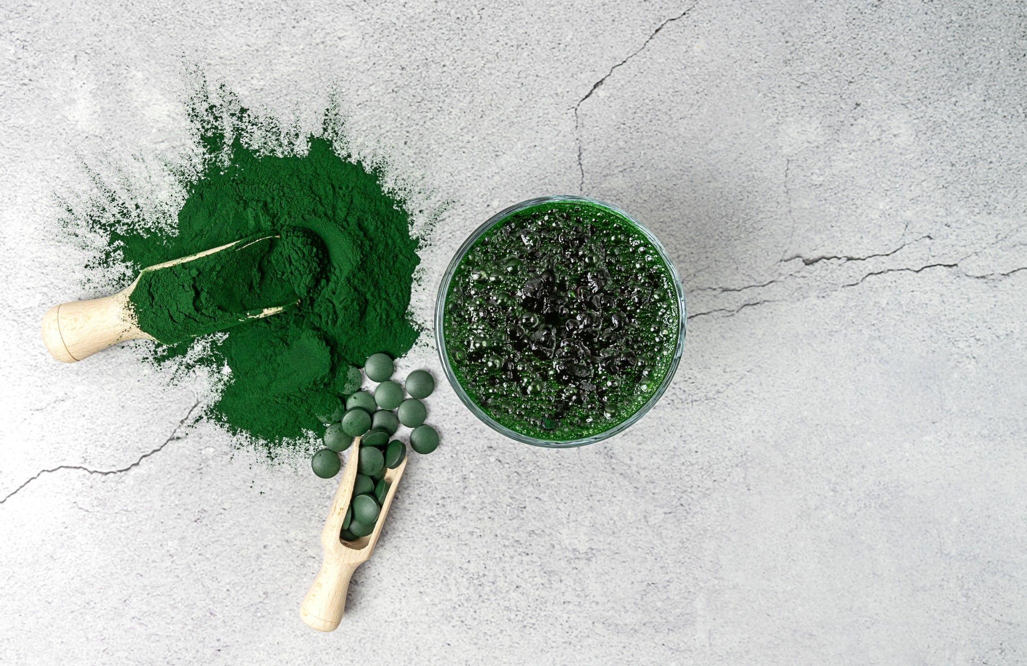 Blå-gröna alger - det lilla miraklet 4