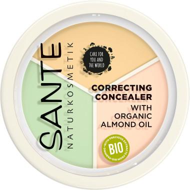SANTE - Correcting Concealer Trio, 6 g 1