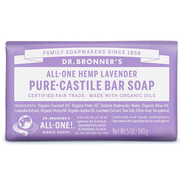 Dr. Bronner´s - Bar Soap Lavender, 140 g 1