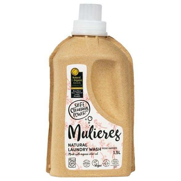 Mulieres Miljövänligt Flytande Tvättmedel Ros 1
