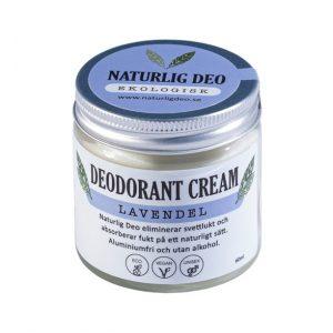 Ekologisk Deodorantkräm Lavendel – 60 ml