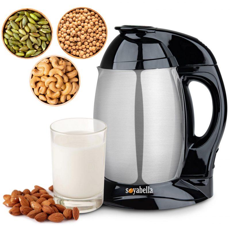 Mjölk- & Soppmaskin Soyabella Svart 1