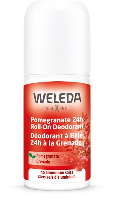 Weleda - Pomegranate 24h Roll-On Deodorant 1