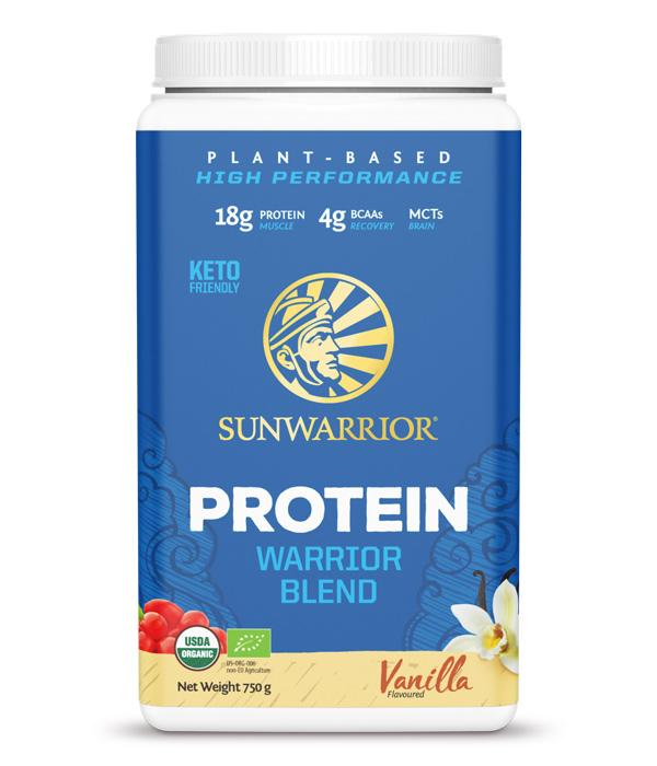 Warrior Blend Växtprotein/Ärtprotein Vanilj 750g 1