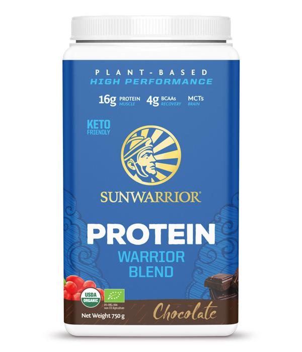 Warrior Blend Växtprotein/Ärtprotein Choklad 750g 1