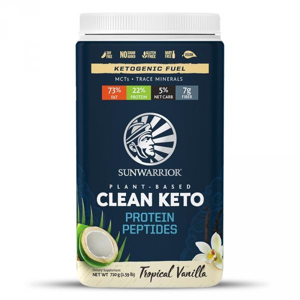 Sunwarrior Clean Keto Protein Vanilj 1