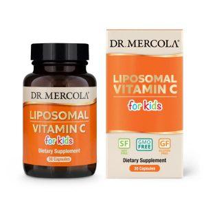 Dr Mercola Liposomal C-vitamin för barn