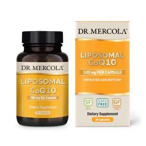 Dr Mercola Liposomal CoQ10 100 mg