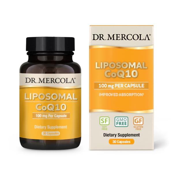 Dr Mercola Liposomal CoQ10 100 mg 1
