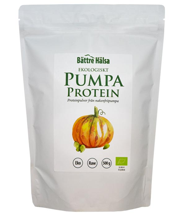 Ekologiskt Pumpafröprotein 500 gram 1