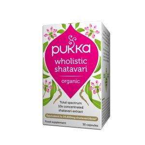 Pukka Wholistic Shatavari 30 kapslar