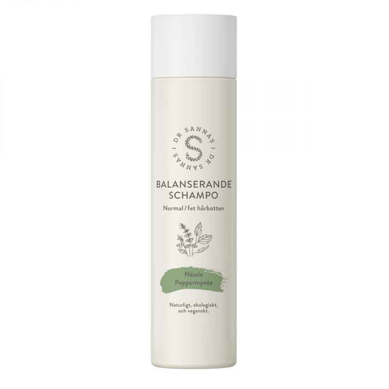Dr Sannas Balanserande schampo för normal/fet hårbotten 1