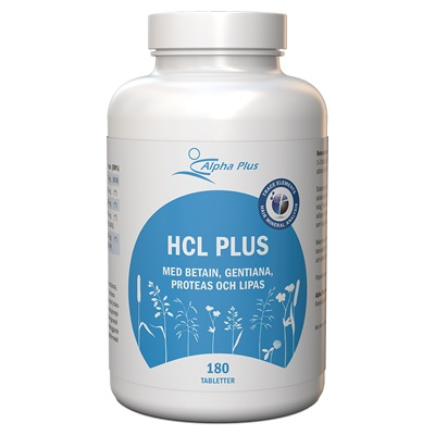 Alpha Plus HCL Plus Vegan