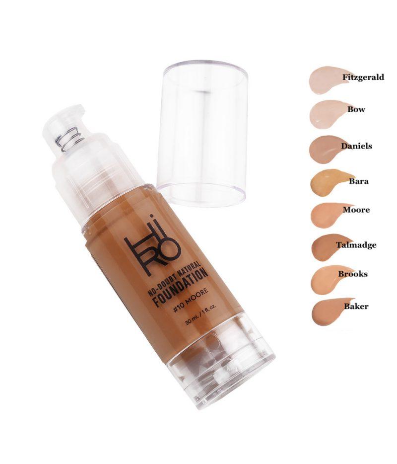 HIRO Cosmetics No Doubt Foundation Bara 1