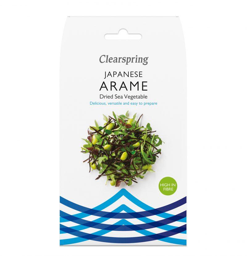 Clearspring Vildskördade Aramealger 30 g 1