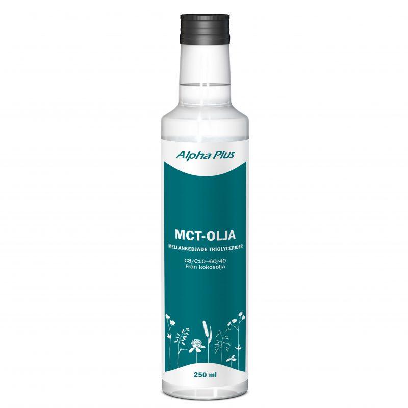 Alpha Plus MCT-olja 250 ml 1