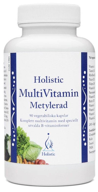 Holistic MultiVitamin Metylerad 1