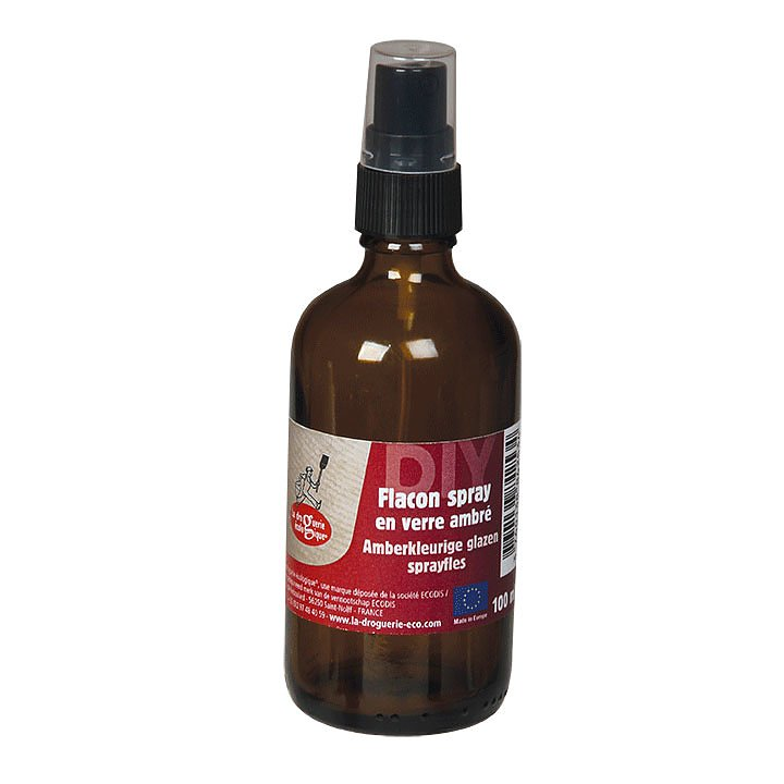 Sprayflaska i Glas Brun 1
