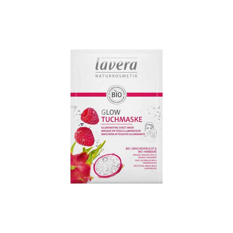 LAVERA Iluminating Sheet Mask - Pink Pitaya 1