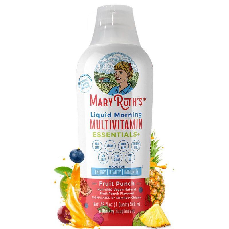 MaryRuth´s Morning Essentials+ Multivitamin Fruit Punch 1