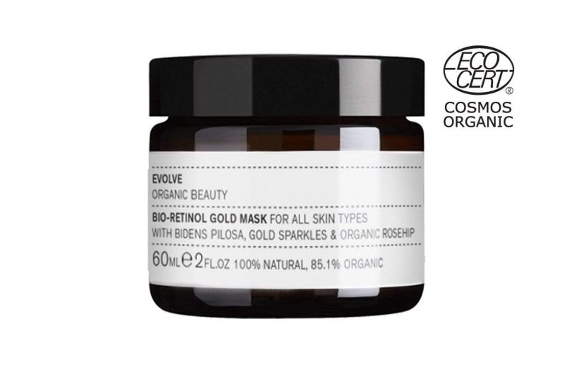 Evolve Bio-Retinol Gold Face Mask 60 ml 1
