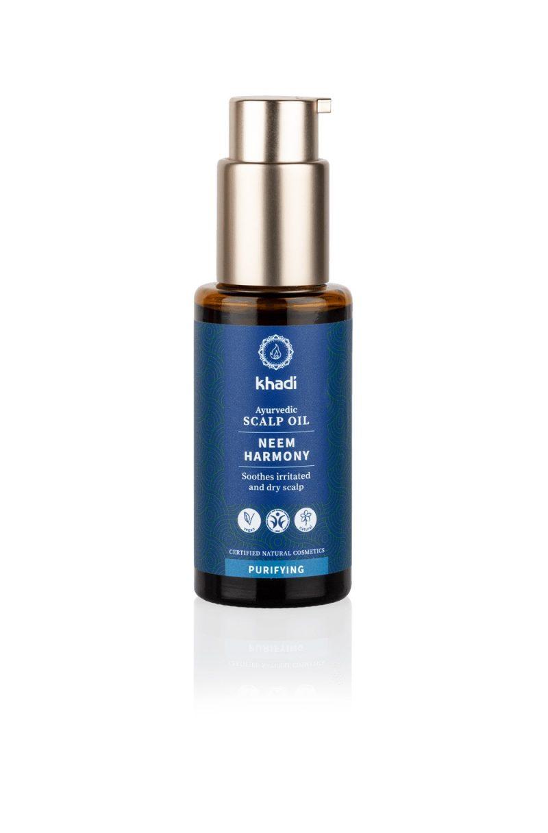 KHADI Ayurvedic Hair Oil Neem Harmony 50 ml 1