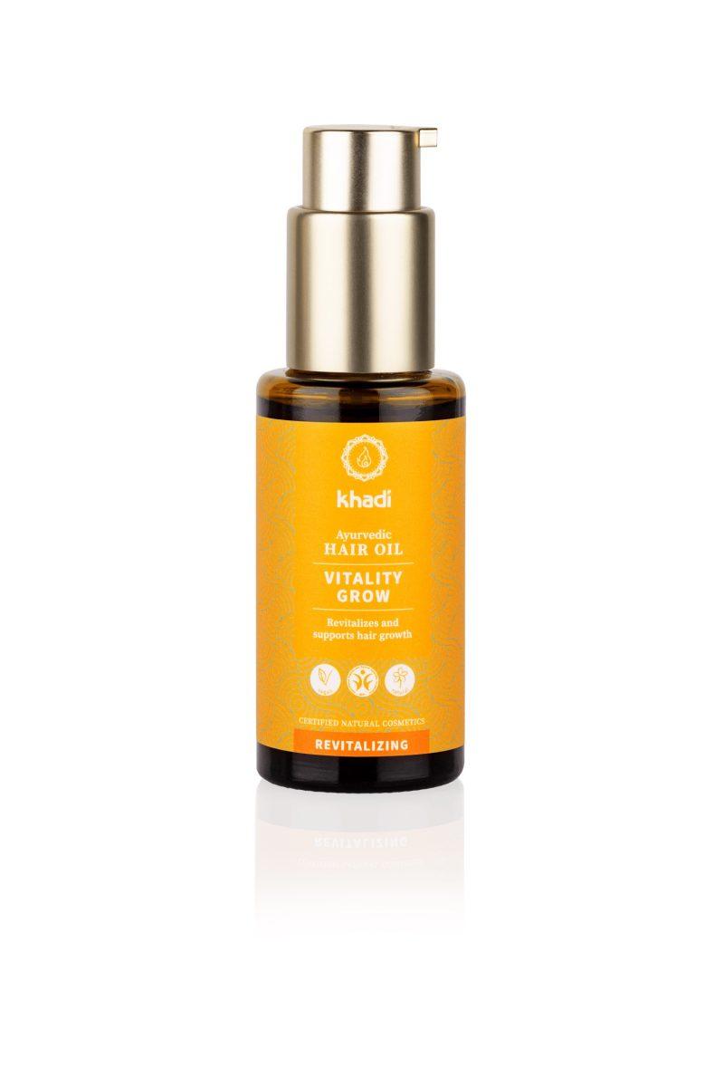 KHADI Ayurvedic Hair Oil Vitality Grow 50 ml 1