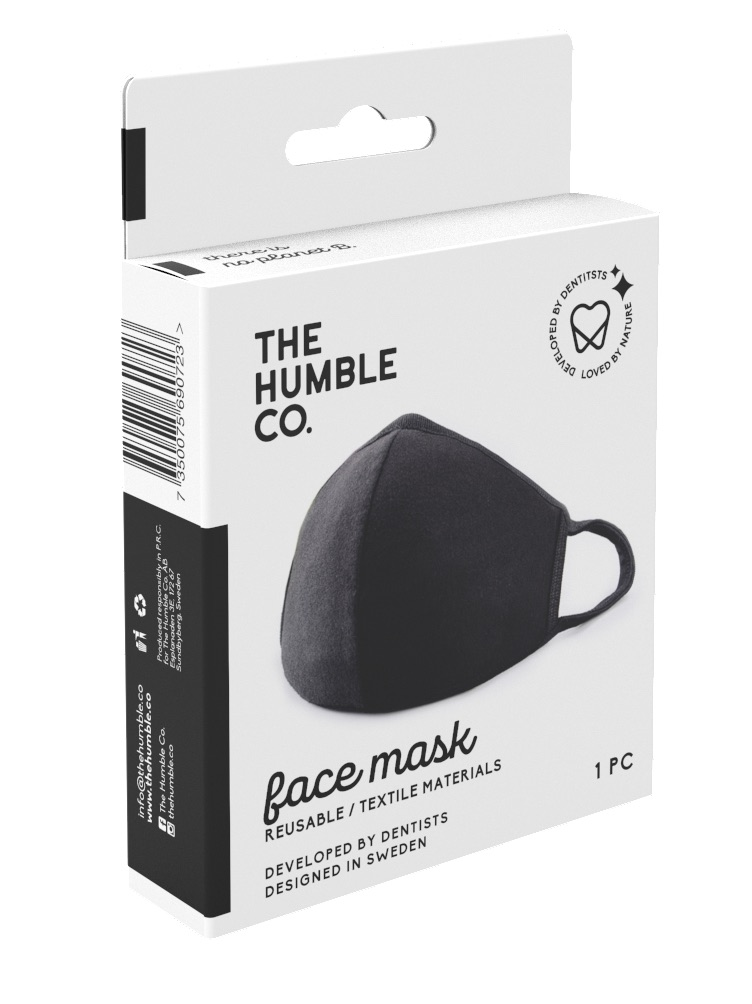 Humble Brush Munskydd i Textil 1
