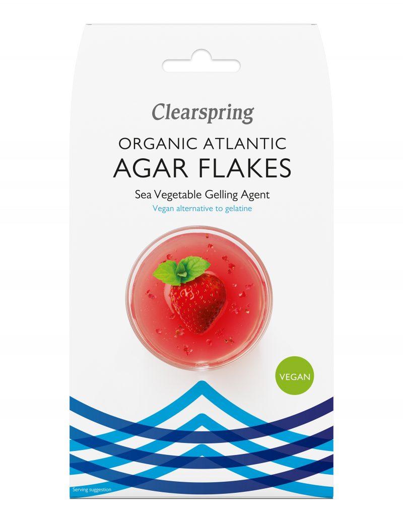 Clearspring Ekologiska Agar Flingor 30 g 1
