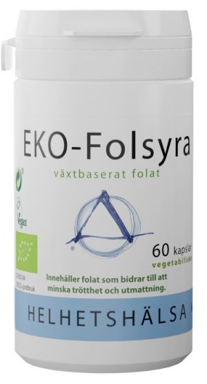 Helhetshälsa EKO Folsyra 500 µg