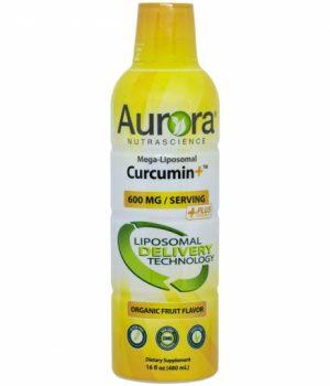 Aurora Mega-Liposomal Curcumin (Gurkmeja) + C-vitamin